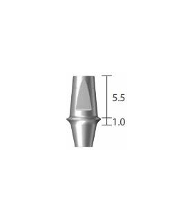 pilier de cicatrisation Ø 4,5 haut 5 mm